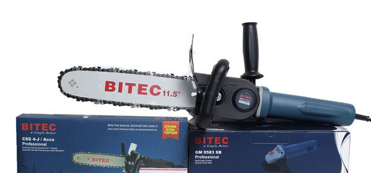 BITEC Professional Powertools Chainsaw Set Accessories CSS 4 J