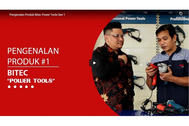 Mengenal Produk Multifungsi BITEC Power Tools